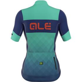 Alé Cycling R-EV1 Rumbles Short Sleeve Jersey Women turquoise-blu light